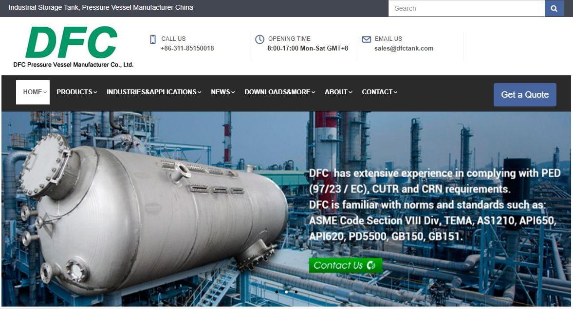 压力容器、工业储罐网站谷歌优化成功案例(石家庄)