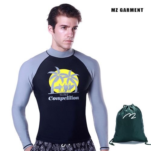 German style rash guard