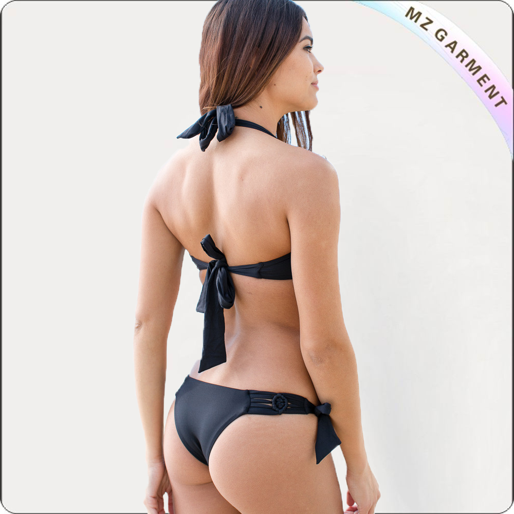 Adult Tie String Cut-Out Bikini