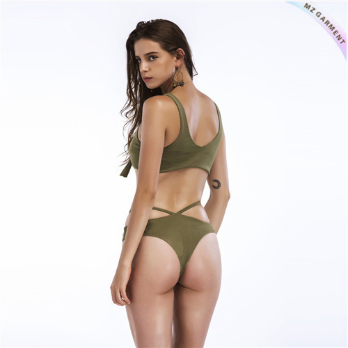 Knot Front Swimsuit