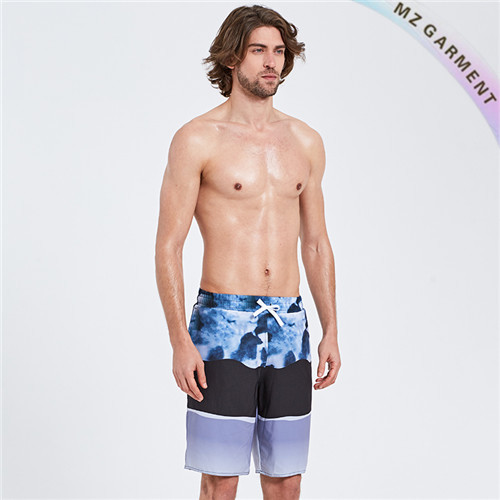Beach Trunks Manufacturer, Made of 100% Polyester, Different Sizes