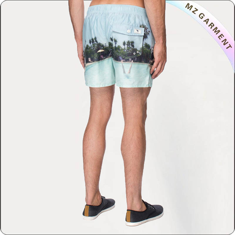 Coki Beach Virgin Islands Board Shorts