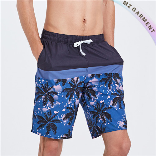 Men's Surf Trunks, Men's Boardshorts, 100% Polyester