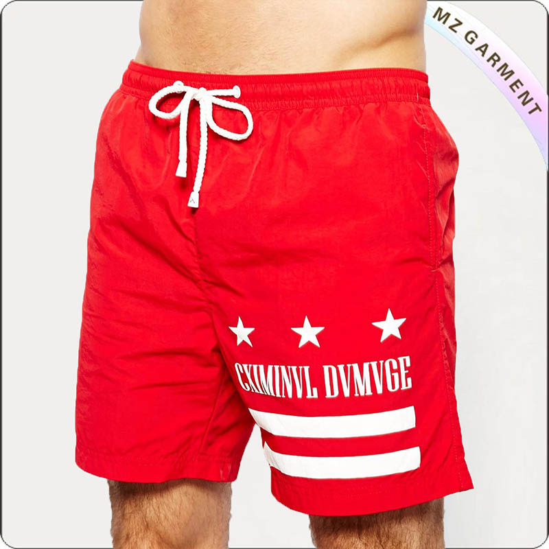 Red Badehose Board Shorts