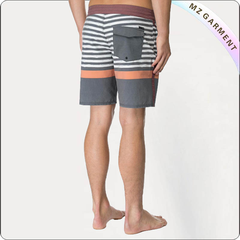Shorty Print Men's Board Shorts