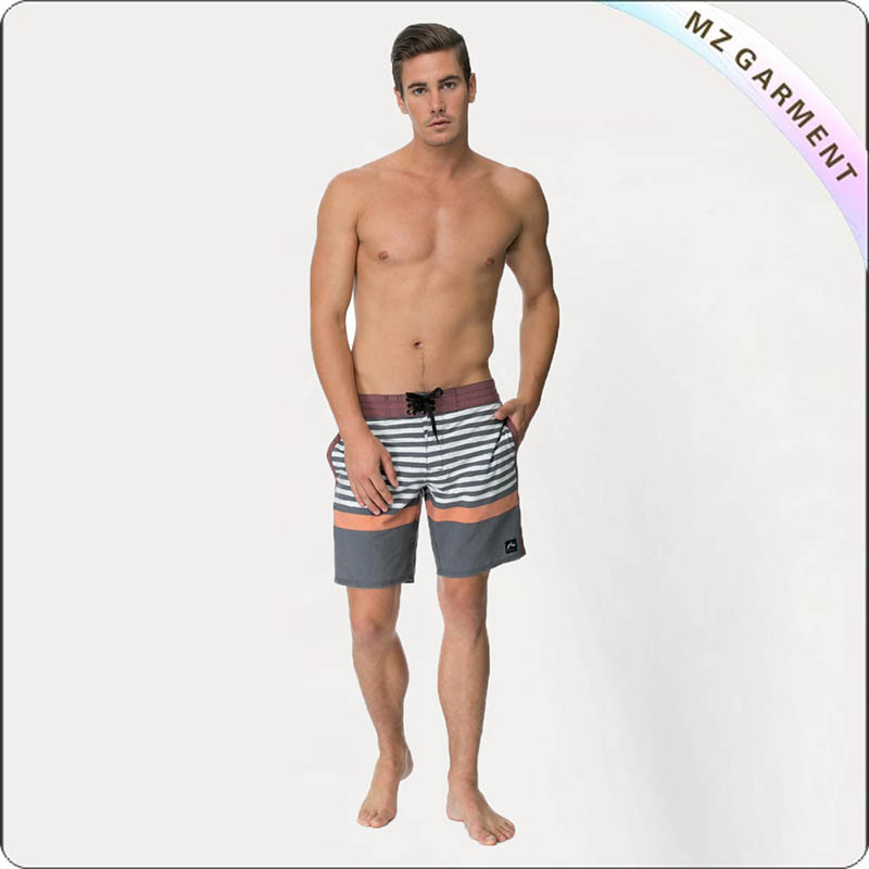 Shorty Print Men's Board Shorts