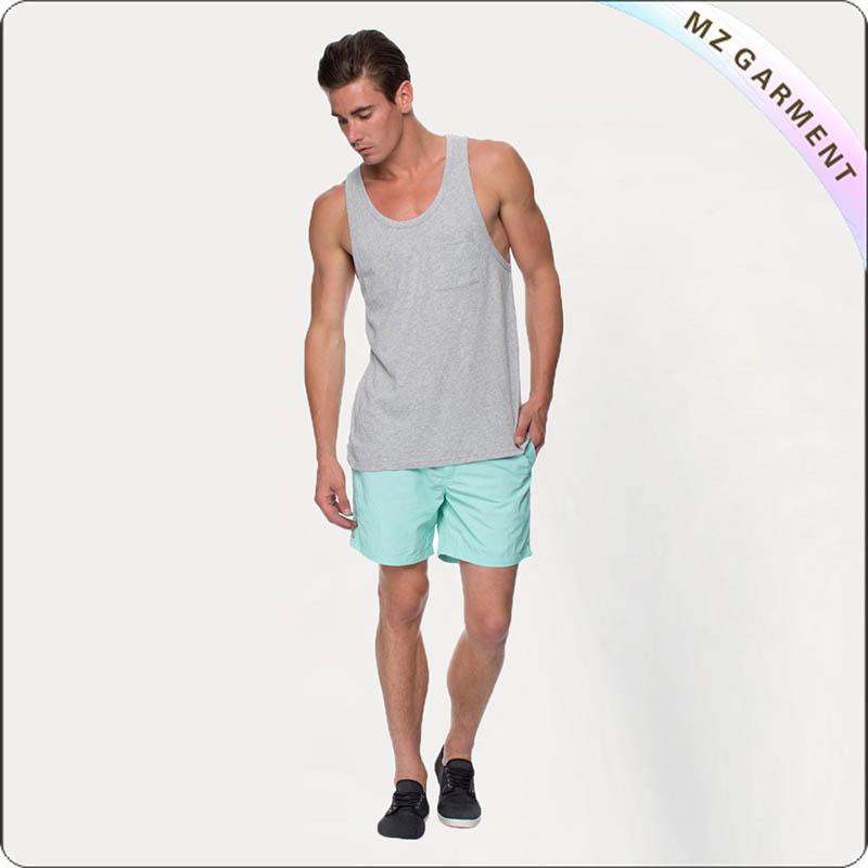 Solid Color Board Shorts