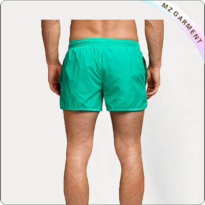 Solid Cyan Board Shorts