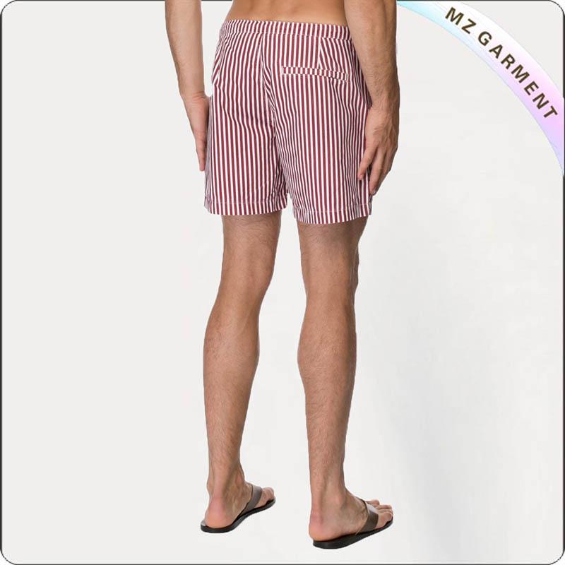 Stripe Printed Board Shorts