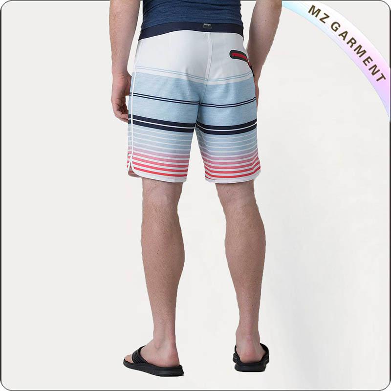 Vertigo Stripe Board Shorts