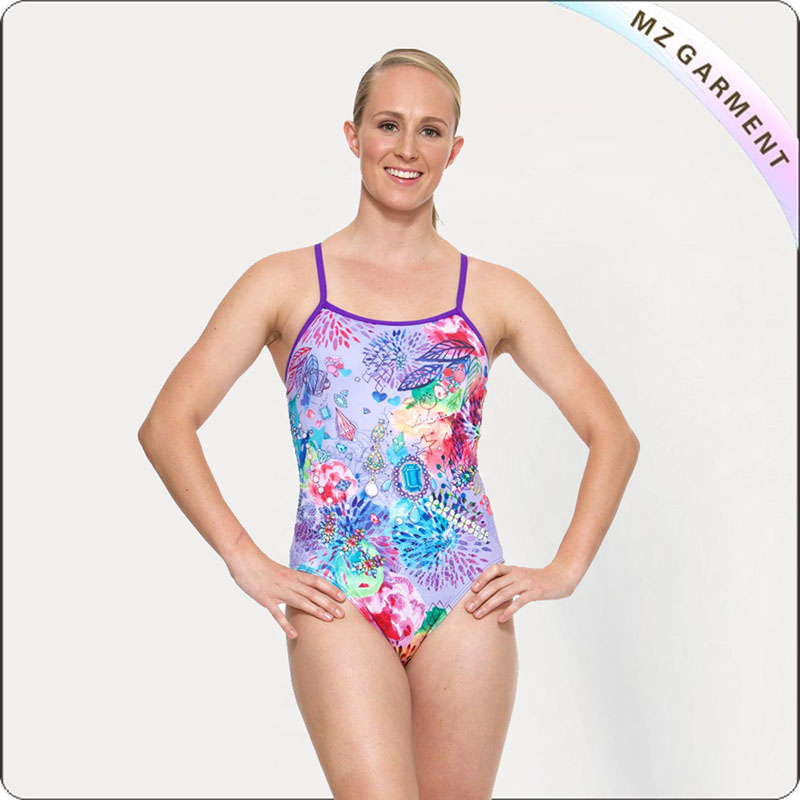 Women Charming Life Competitive Swimsuit