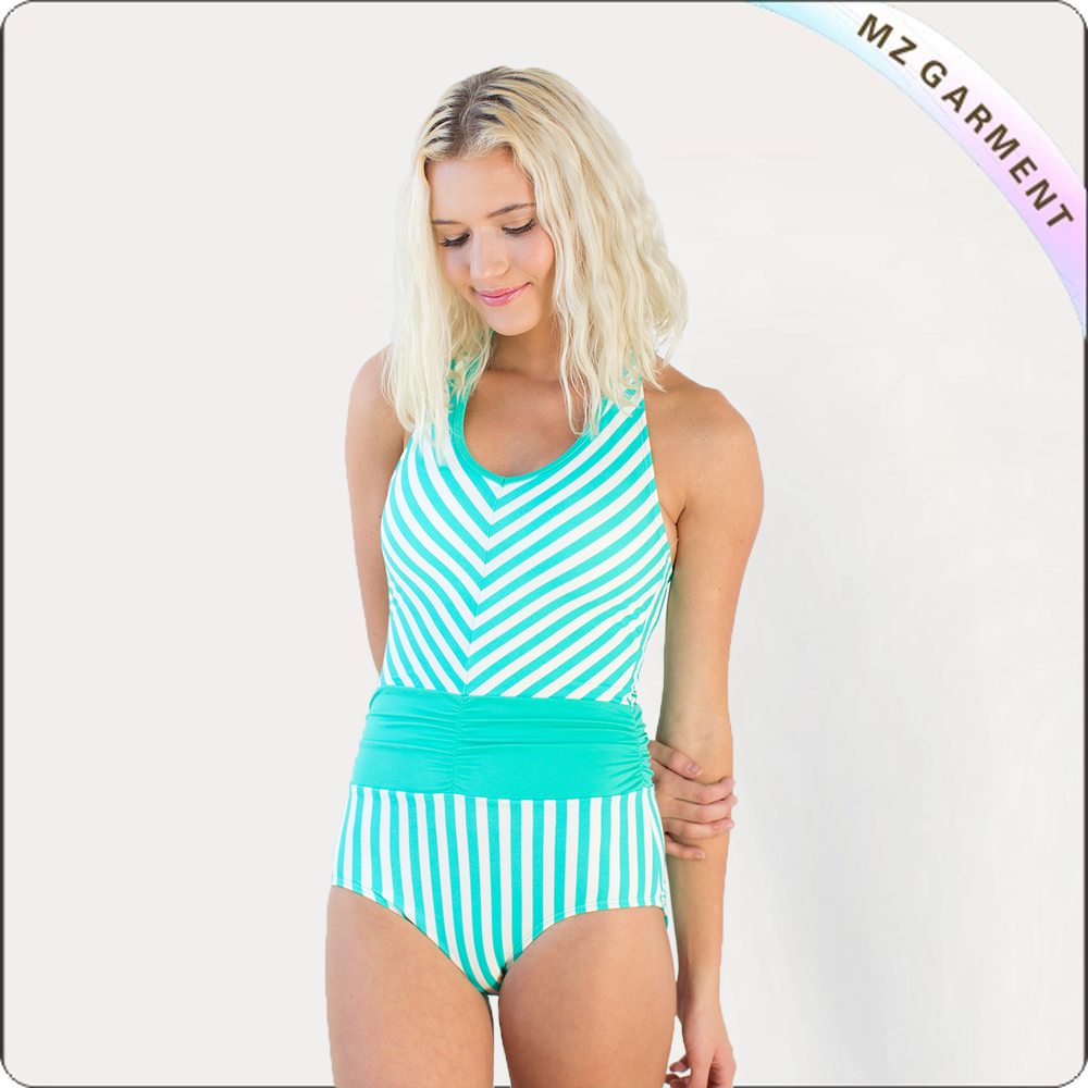 Adorable Modest One Piece Swimsuit