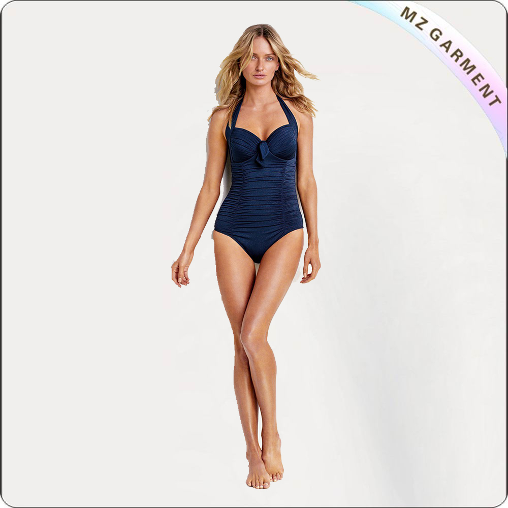 Halter Bandeau One Piece Swimsuit