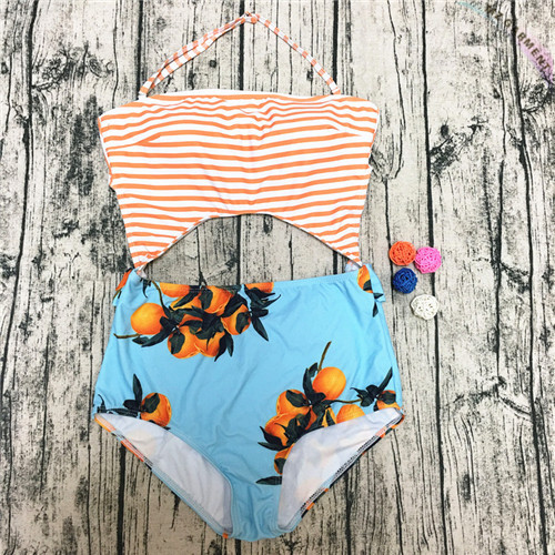 Halter One Piece Swimsuit