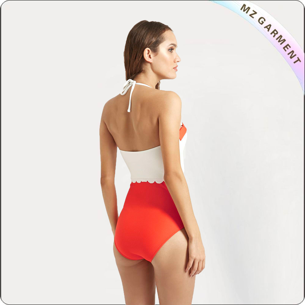 Neon Push up One Piece Swimsuit