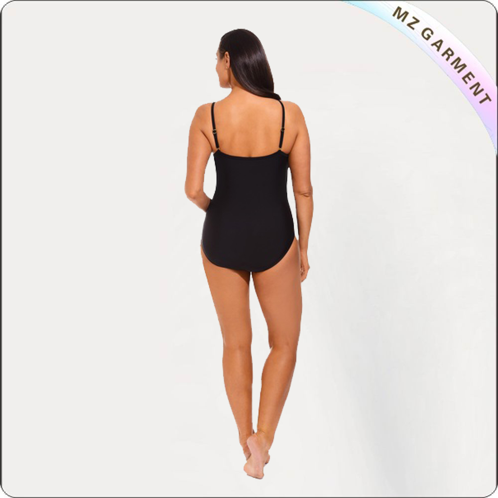 Triple Tier Ruffle One Piece Swimsuit