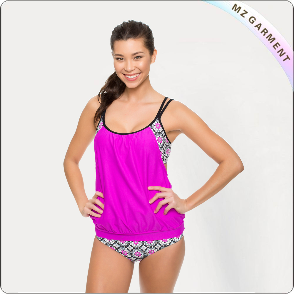 Double Up Tankini and Banded Retro Pant