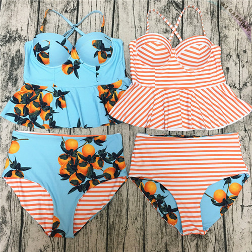 Peplum Swimsuit