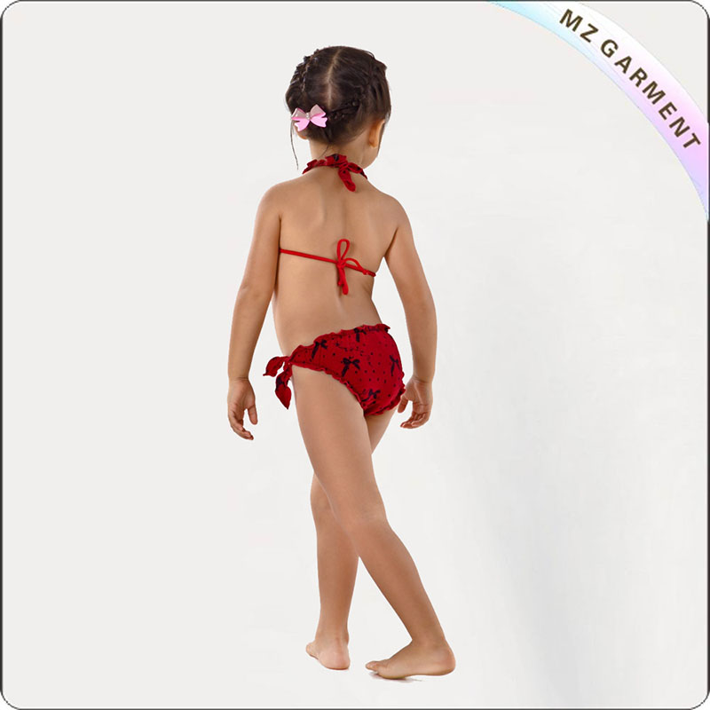Kids Red Bikini