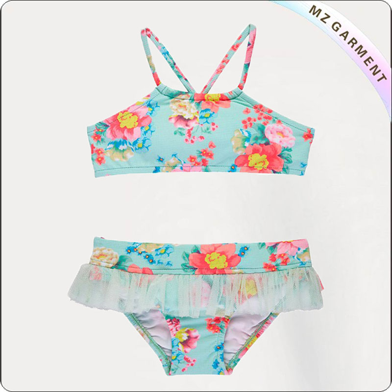 Kids Spring Bloom Bikini