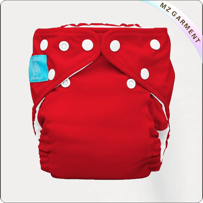 Baby Red Reusable Swimming Diaper