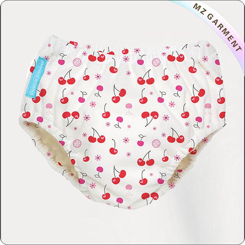 Girls' Cherries Training Swim Diaper