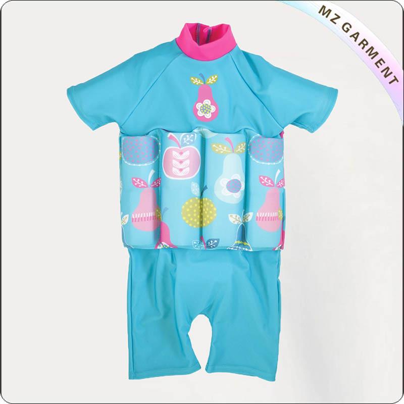 Pink Pear UV Floating Swimwear