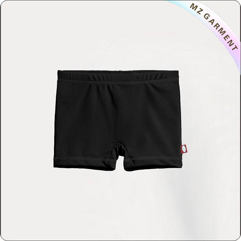 Black UPF50+ Girls' Swimming Bottom