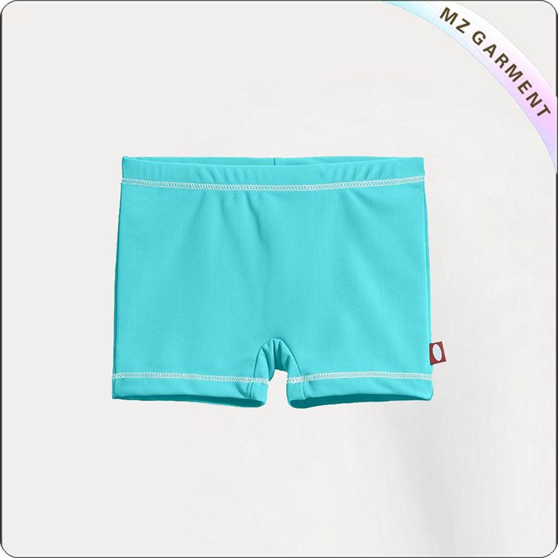 Blue UPF50+ Girls' Swimming Bottom