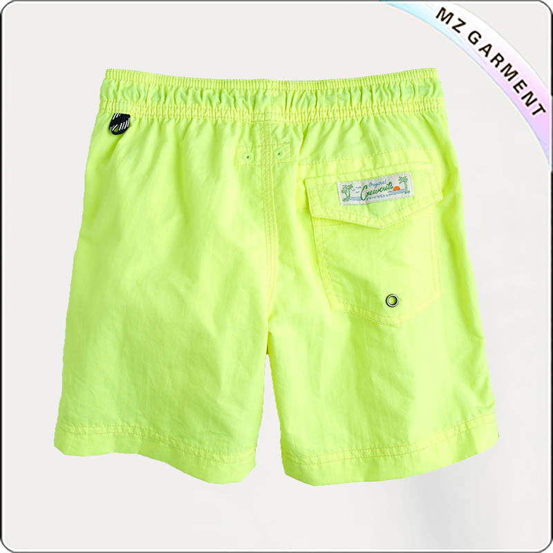 Boys' Striped Swim Board Shorts