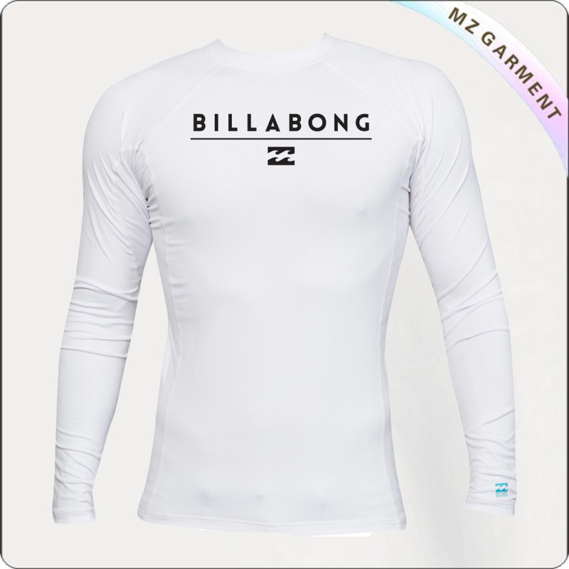 White Long Sleeve Sun Protective Wear