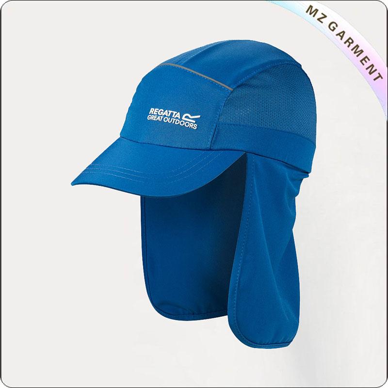 Kids Blue Regatta Protector Sunhat
