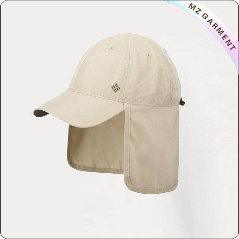 Kids Creamy White Schooner Flap Sunhat