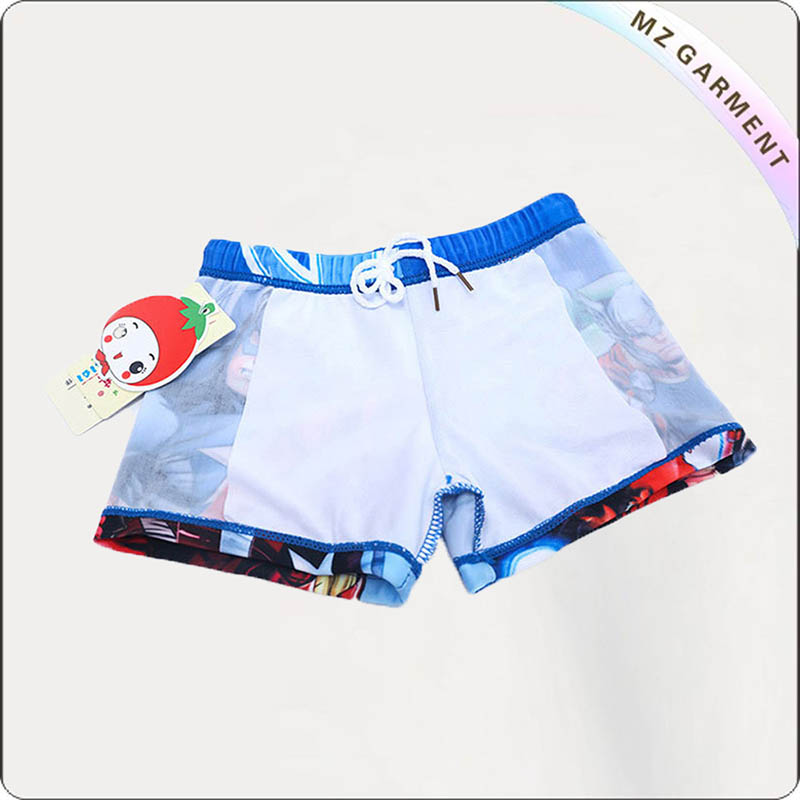 Baby Boy's American Captain Swimming Pants