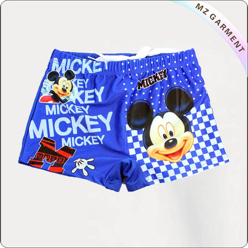 Baby Boys' Cartoon Mickey Swimming Pants