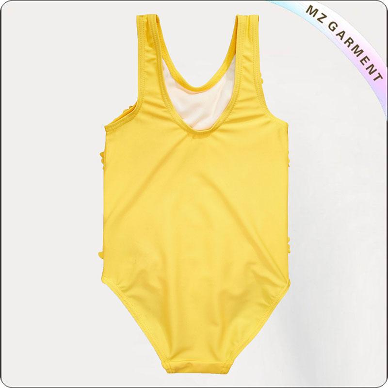 Kids One Piece Lemon Yellow Suit