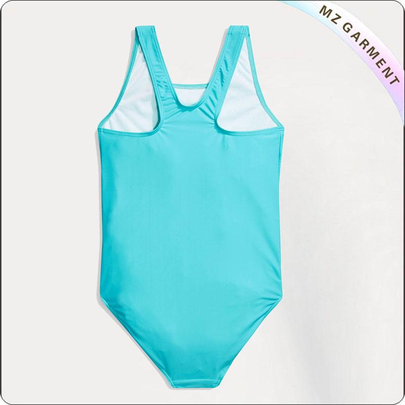 Kids Blue Butterflies Swimsuit
