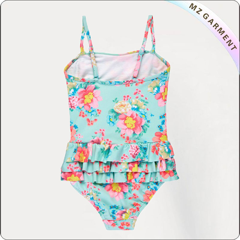 Kids Brightly Floral Swimsuit