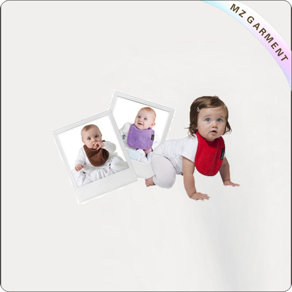Brown-Purple-Red 3 Pack Bibs