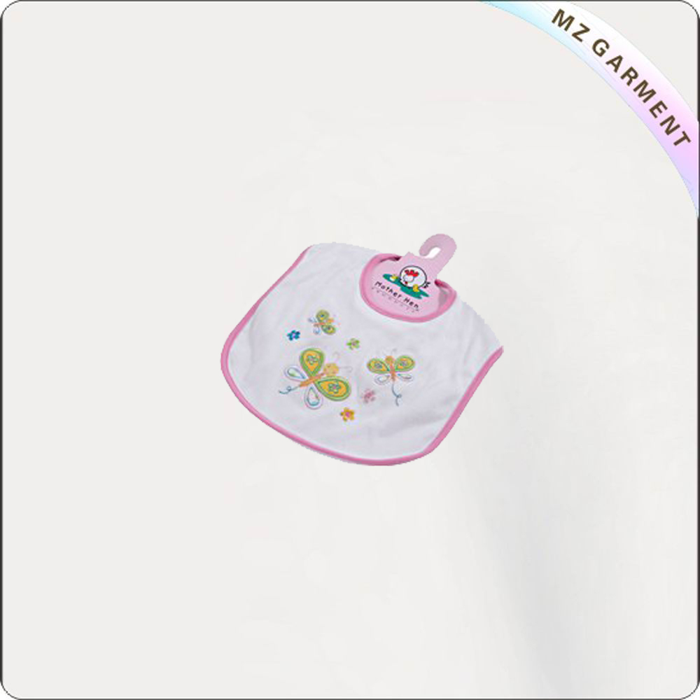 Children Butterfly Printed Bib