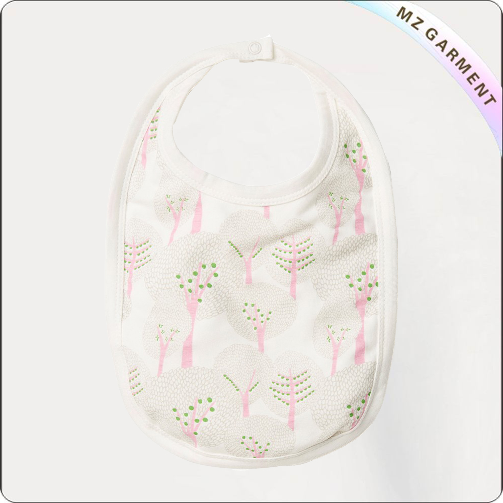 Children Trees Print Bib