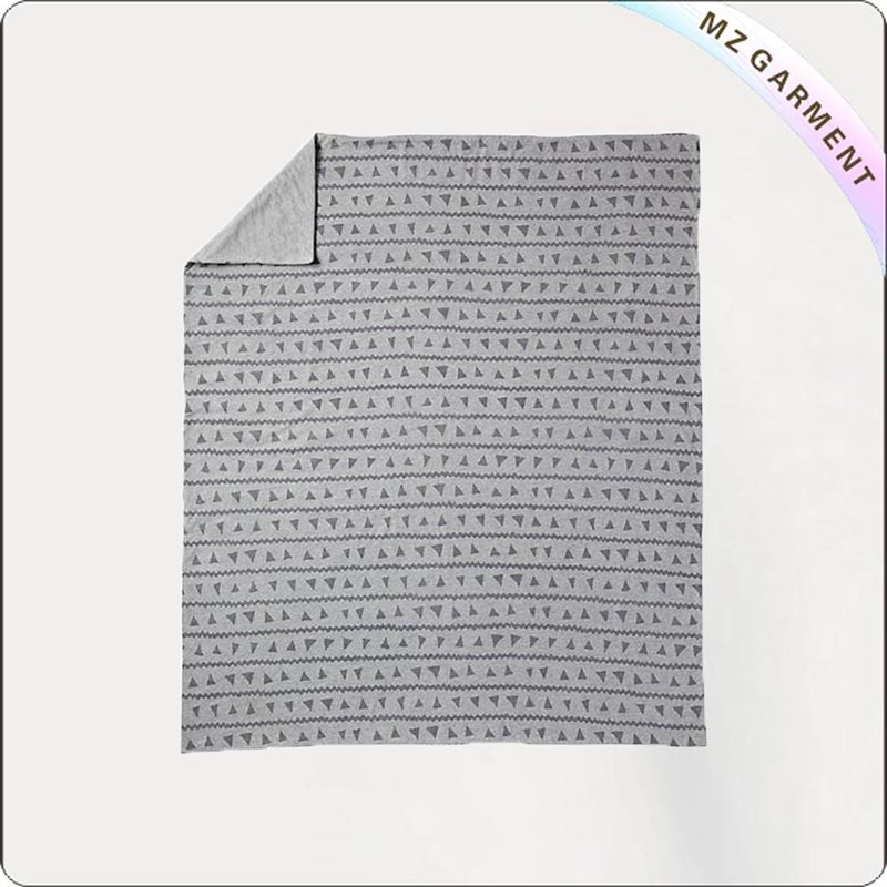 Geometric Print Blanket