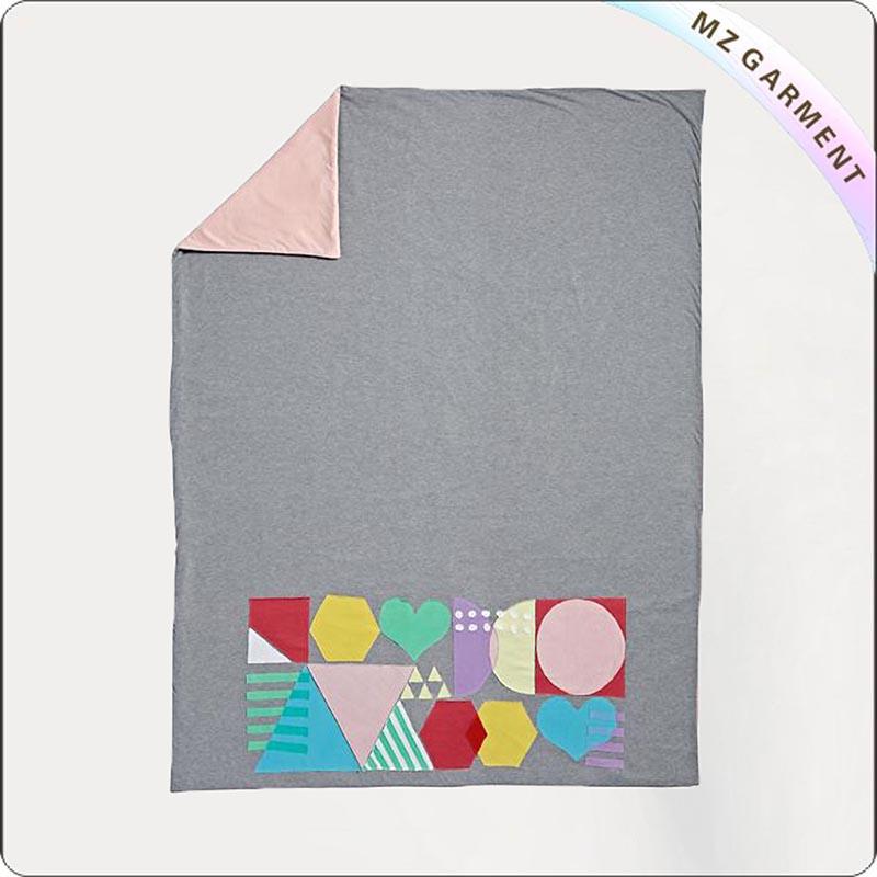 Heart Print Blanket