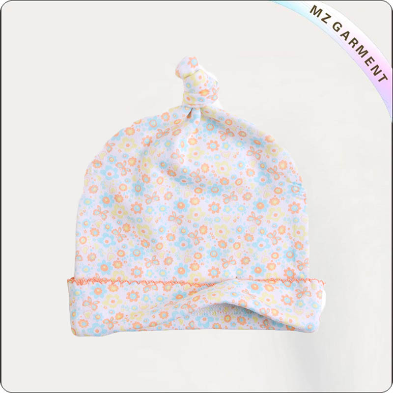 Kids Flowers Cap