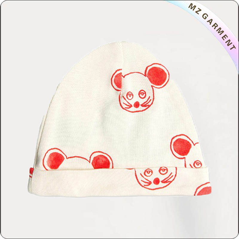 Kids Red Mouse Cap