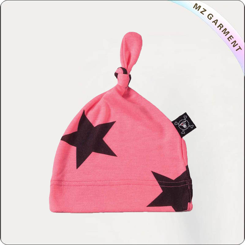 Kids Star Pink Cap