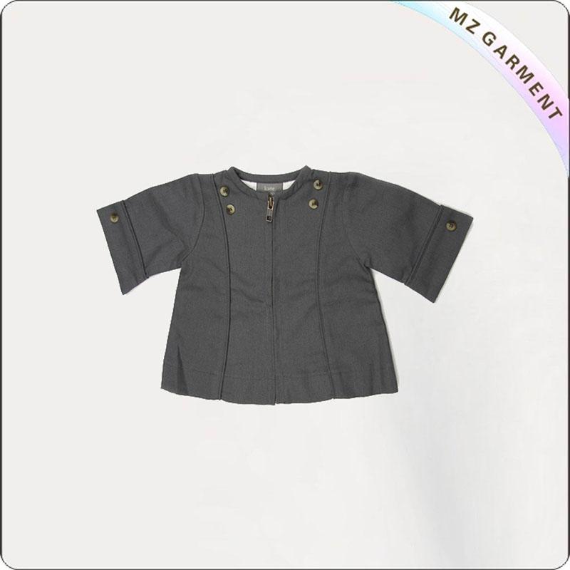 Baby Peacoat Knit Cardigan