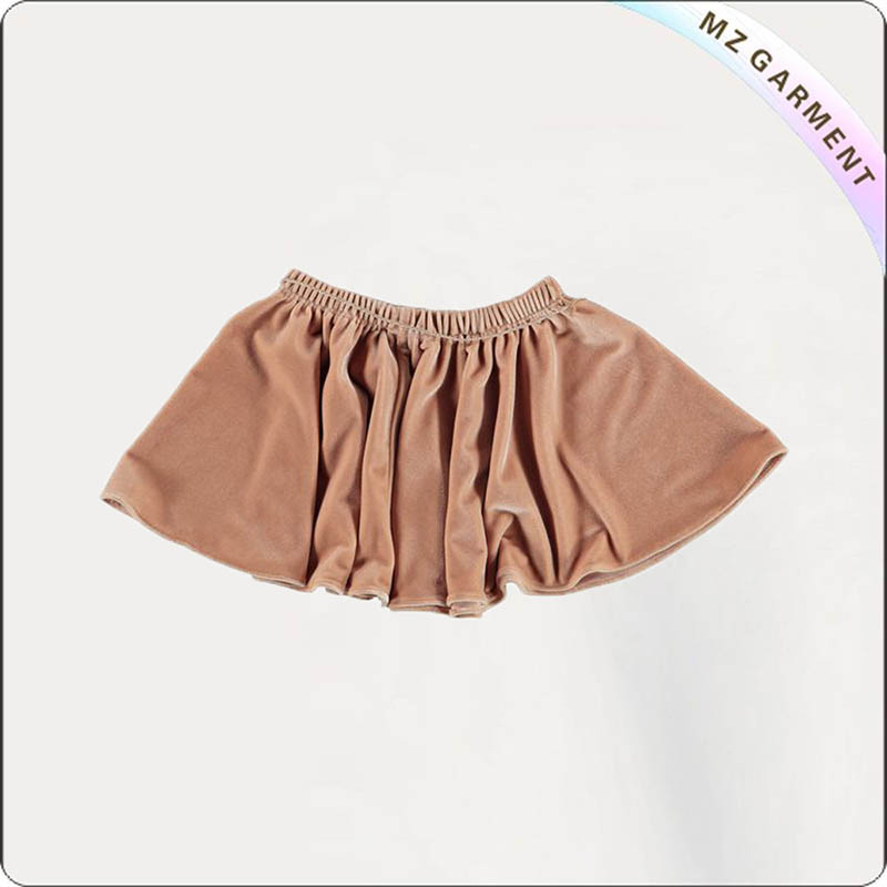 Kids Brown Skirt