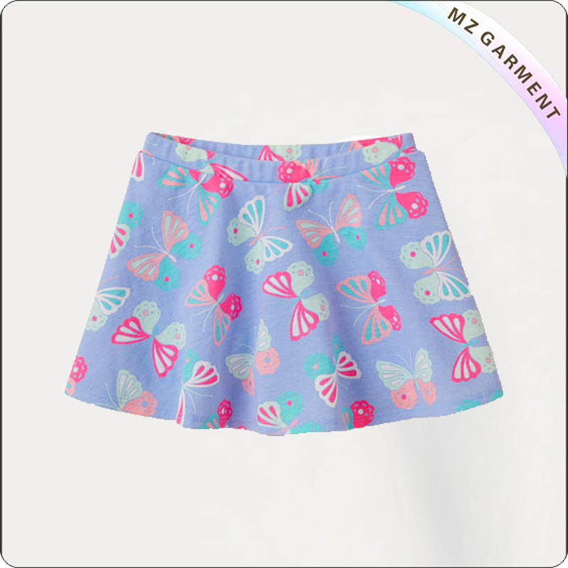 Kids Butterfly Skirt