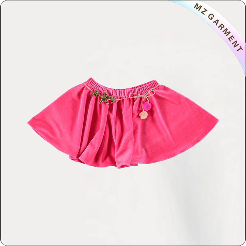 Kids Cerise Skirt